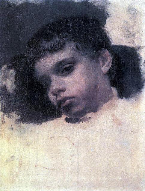 Valentin Serov - Kolya (Nikolai Yakovlevich) Simonovic. 1880