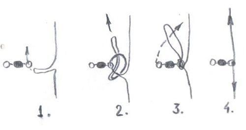 рыболовные узлы для отводных поводков