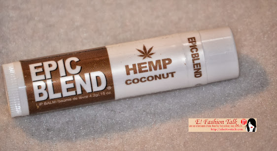 Epic Blend Hemp Coconut lip Balm