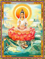 The Two Buddhisms And Kwan Yin Image