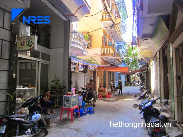 Nhà phân lô phố Tân Mai