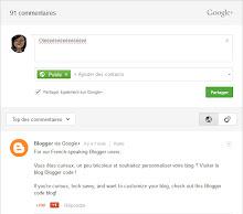 Module de commentaires Google+