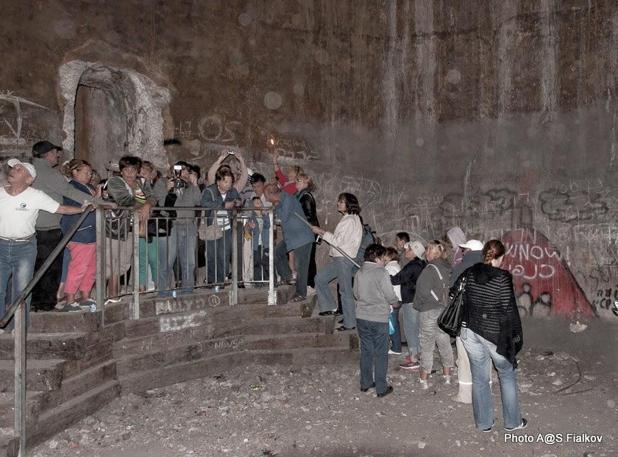 Цфат. Подземелье крепости крестоносцев. Экскурсия по Верхней Галилее. Гид в Израиле Светлана Фиалкова.