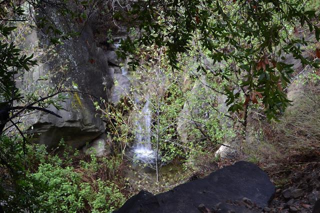 short waterfall