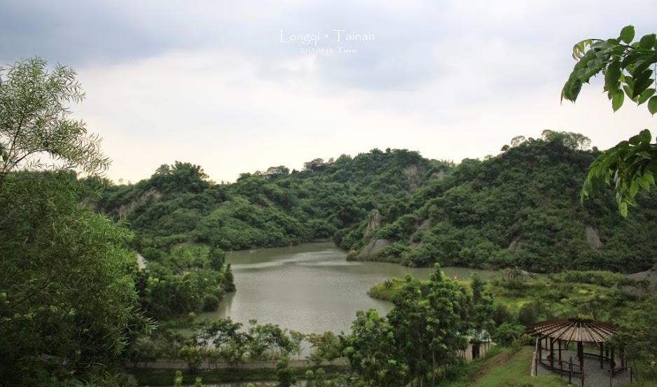 台南龍崎牛埔泥岩水土保持教學園區