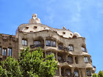 Gaudi architecture - the Casa Mila at La Pedrera