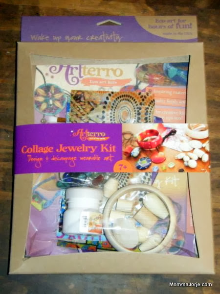 Artterro: Collage Jewelry Kit