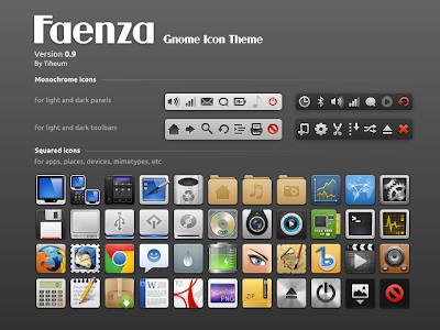faenza 0.9 ubuntu