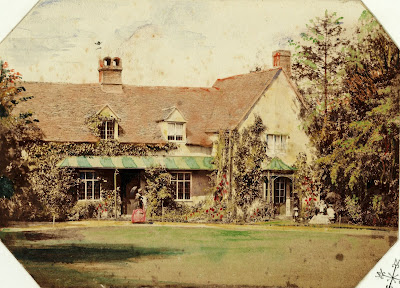 """The old Parsonage was taken down in the year 1859 and on the same site is now built the new Rectory."" From A Record of Shelford Parva by Fanny Wale P54"