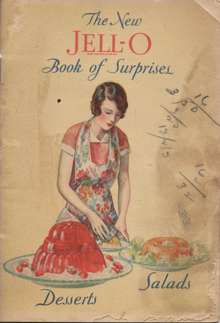 Modern Recipe Book Cover : The past on a plate vintage recipe thursday new jell