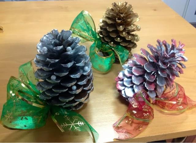Te voy a contar cosas pi as decoradas - Pinas decoradas para navidad ...