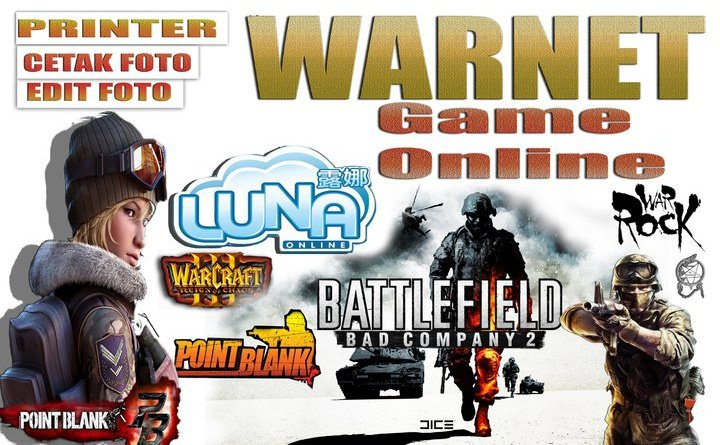 Banner Warnet Game Online