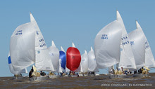 J/24 one-design sailboat- sailing J/24 Worlds Argentina
