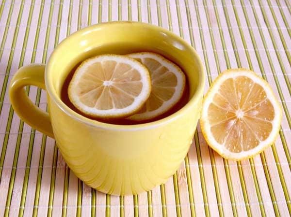 Infusión de limón