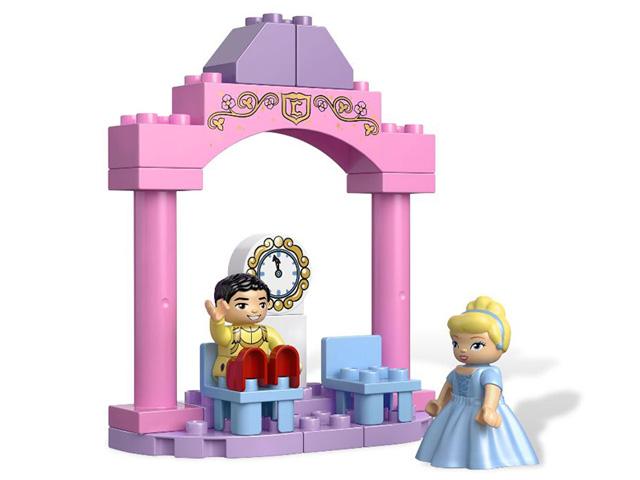 レゴ デュプロ プリンセス シンデレラのお城 6154