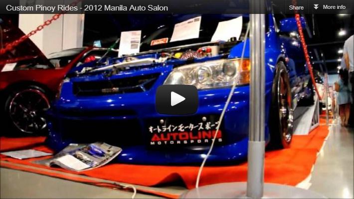 Custom Pinoy Rides 2012 Manila Auto Salon Errol Panganiban Productions