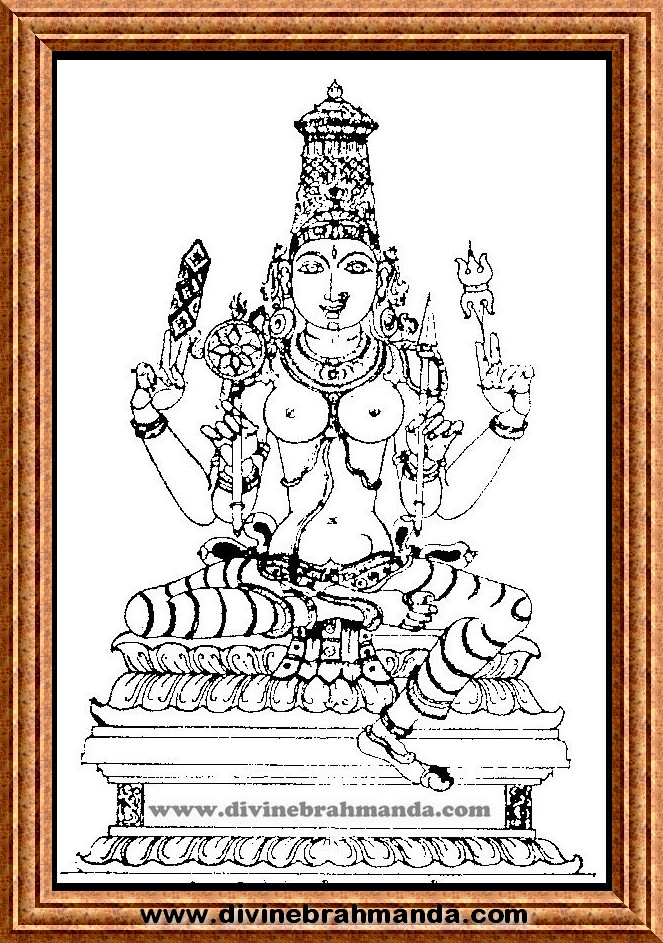 Soundarya Lahari Sloka, Yantra & Goddess To End Infertility and give Ideal Offsprings - 11