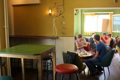 Tingle Tangle cafe in Pristina Kosovo