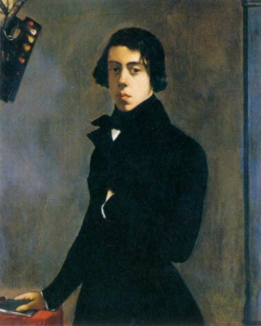 Théodore Chassériau - Self-Portrait 1835