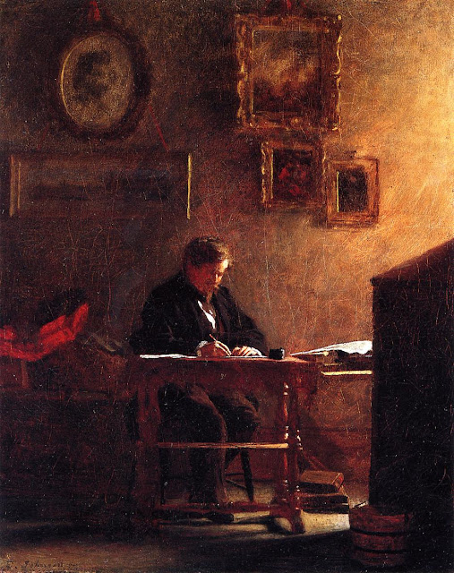 Eastman Johnson - Self Portrait