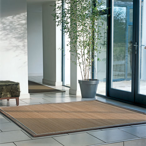 using bamboo rugs for decorating indoors and outdoors