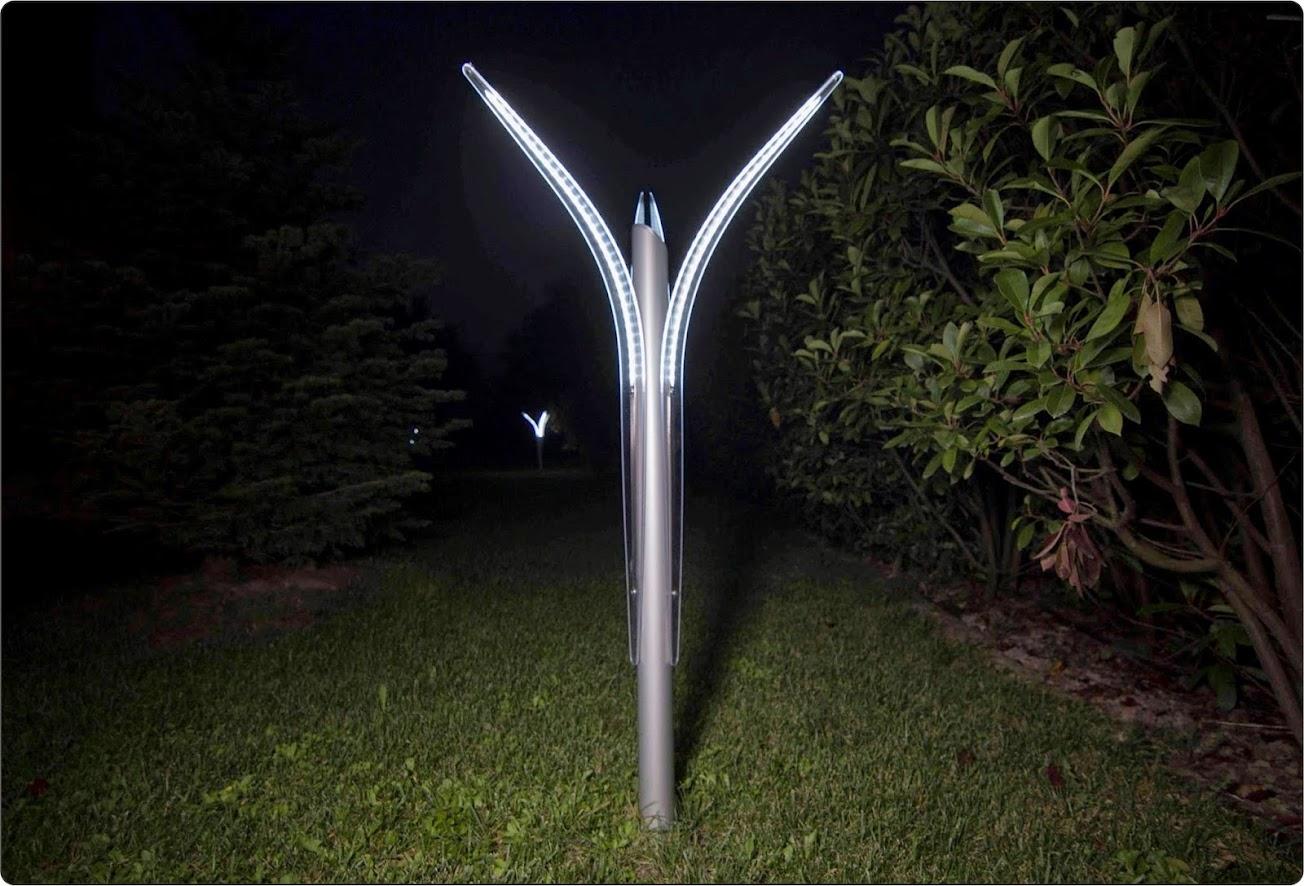 Linea di illuminazione giardino a led minimalism - Lampade da giardino a led ...