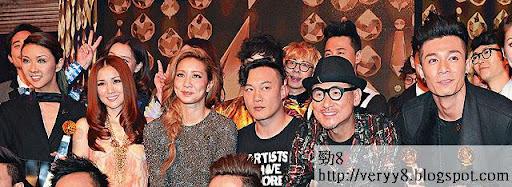 無受掣肘的港台,頒獎禮明顯比 TVB《勁歌》鼎盛得多。