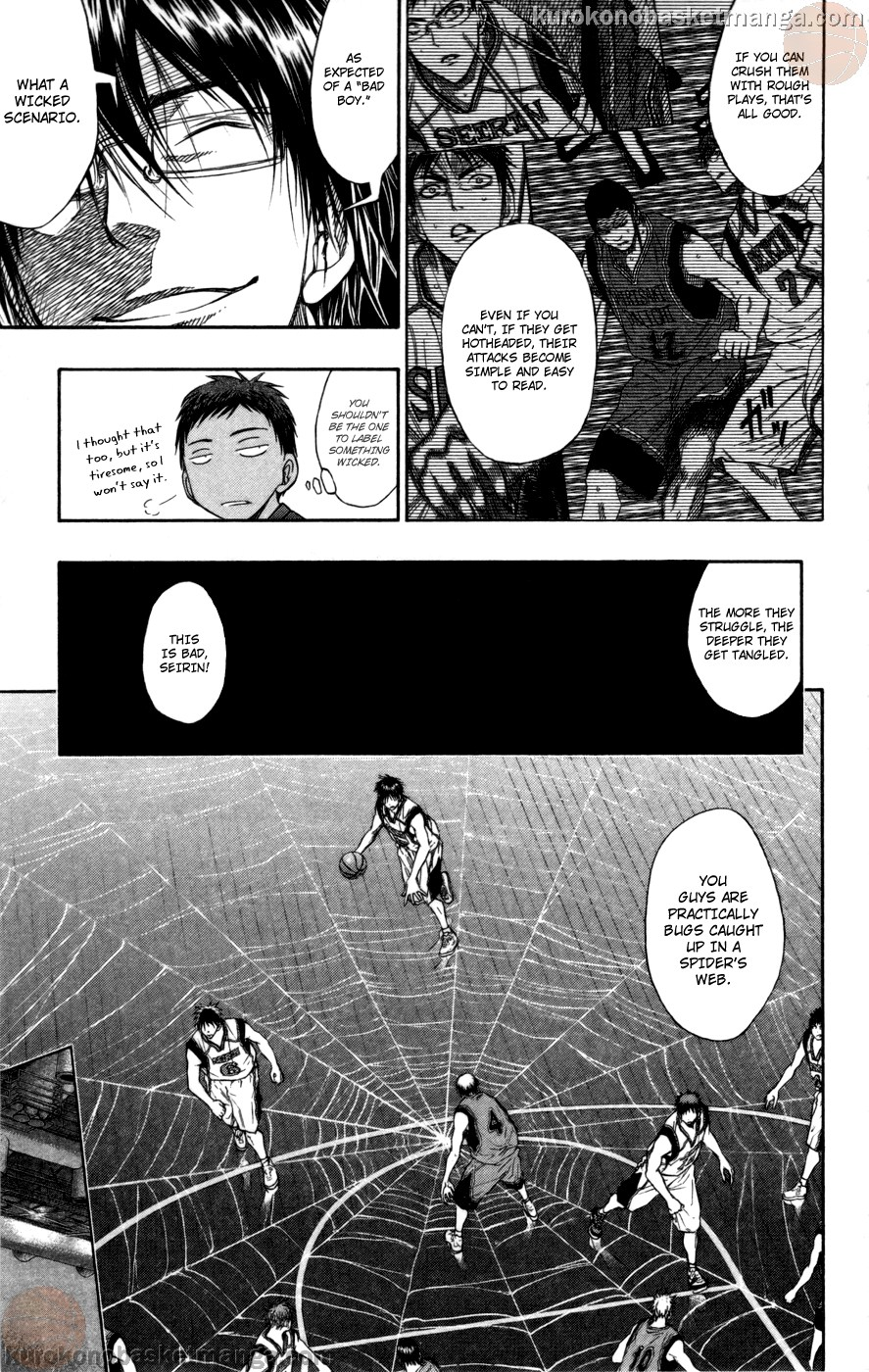 Kuroko no Basket Manga Chapter 104 - Image 17