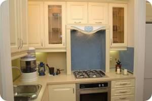 Ремонт кухни с колонкой