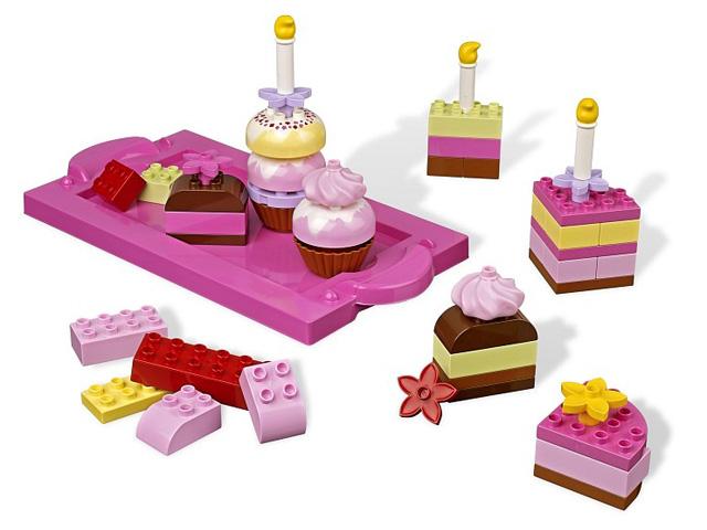 レゴ デュプロ ピンクのケーキブロックセット 6785