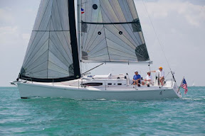 J/108 shoal performance cruising sailboat
