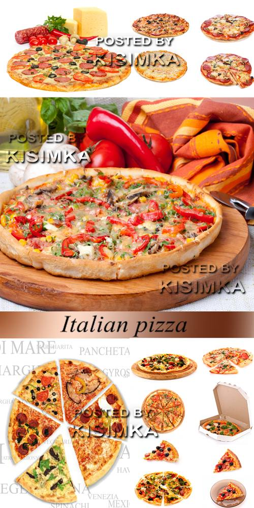 Stock Photo: Italian pizza