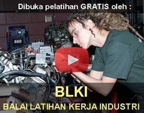 GRATIS Pelatihan Kerja Resmi Balai Latihan Kerja Industri BLKI