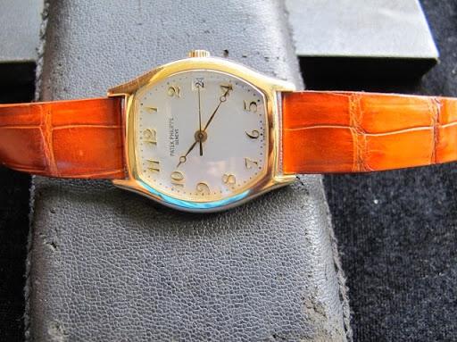 Bán đồng hồ patek philippe gondolo – model 5030 – vàng 18k – dây da – size 34mm