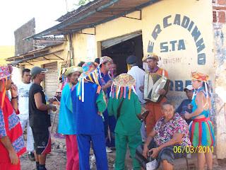Comunidade do Pilar recebe o Boi da Macuca (Correntes/PE)