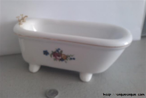 Baño para casas de muñecas 1:12