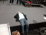 Rehearsing for the new year...Bud's taking a break