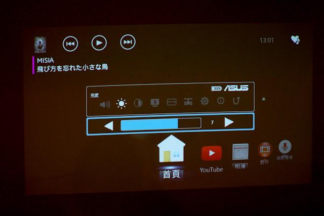 ASUS S1便攜輕巧短焦LED投影機