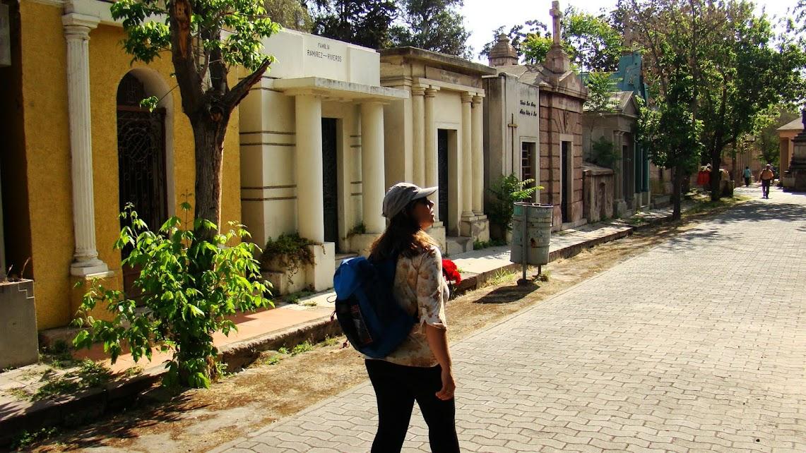 El barrio donde moran los próceres de la patria