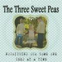www.thethreesweetpeas.blogspot.com