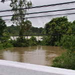 Water Rising at the Bridge on the Don Tan Road