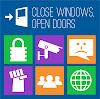 Nueva campaña de la FSF: Cerrando ventanas abriendo puertas
