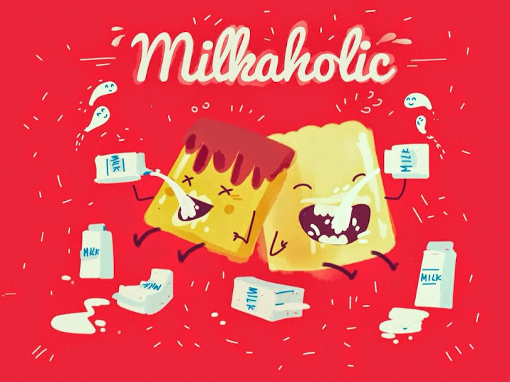 Milkacholic made with Sketches