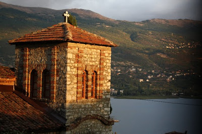 Church in Ohrid Macedonia