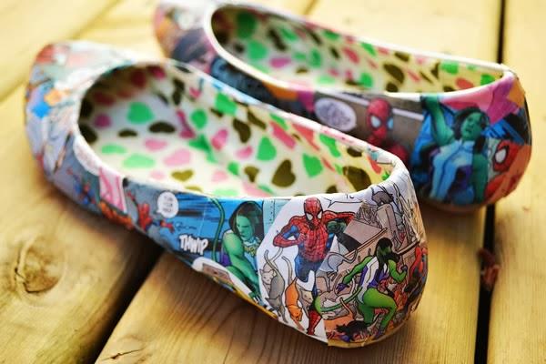 Sapato com gibi