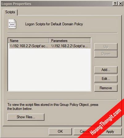 Tạo lời chào mỗi khi logon bằng Group Policy Object GPO