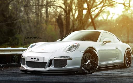 Porsche 911 Gt3 White