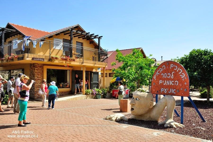 Деревня художников Аниам. Экскурсия по Голанским высотам. Гид в Израиле Светлана Фиалкова.