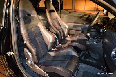 Fiat 500 Abarth Venom Sabelt seats