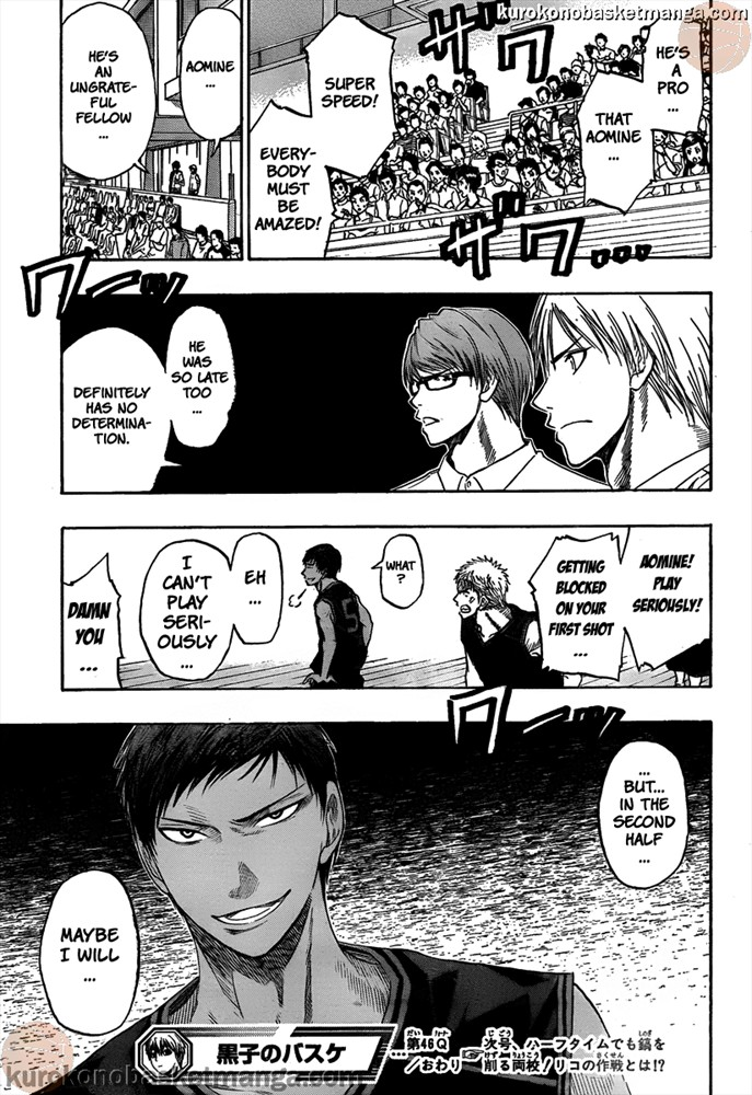 Kuroko no Basket Manga Chapter 46 - Image 19